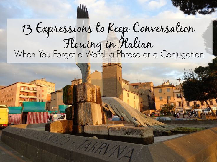 Keep your Italian conversations flowing, even if you forget a word, phrase or conjugation.