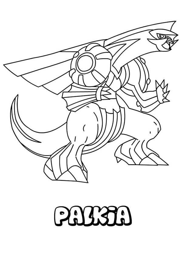 Great Pokemon Palkia Coloring Pages Pokemon Coloring Pages