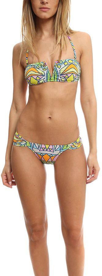 Mara Hoffman Stained Glass V Wire Bikini