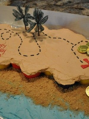 Top Pirate Party Cakes