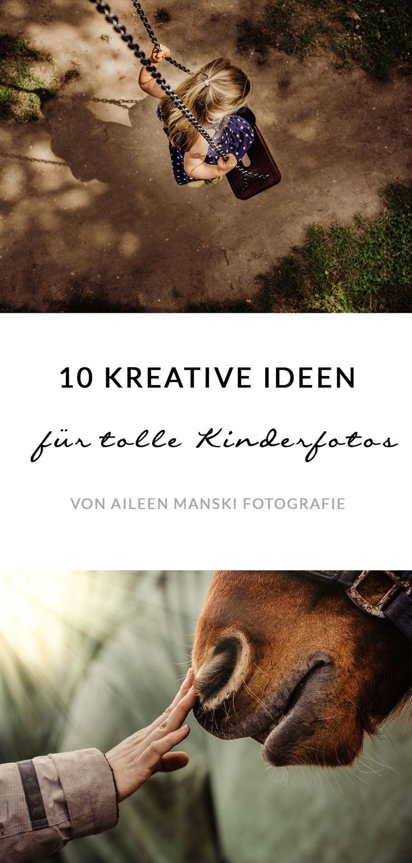 10 Ideen für kreative Kinderfotos und Familienfotos