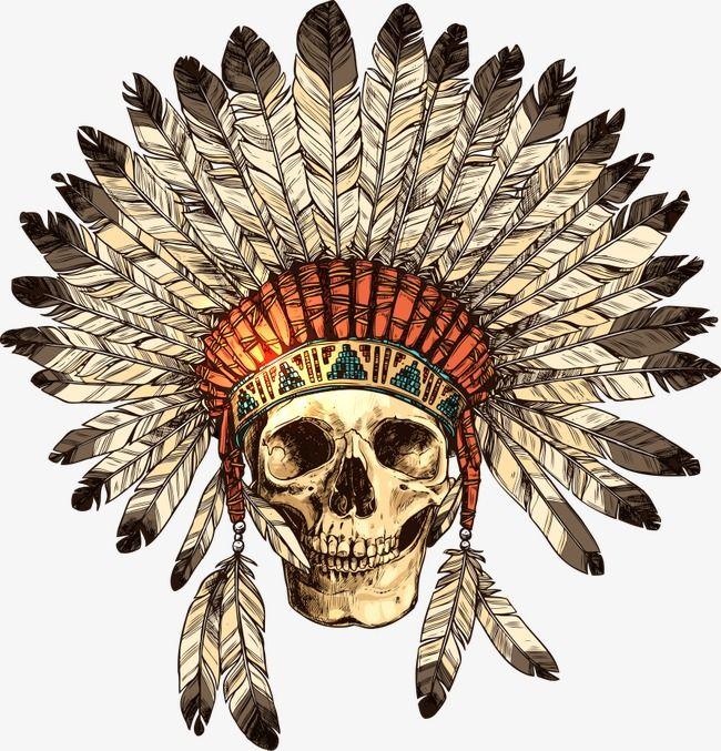 Vector Caveira Cocar De Indio O Indio Skull Tiara Png E Vector Tatuagem Cocar Tatuagem Cocar Indigena Tatuagem Indigena