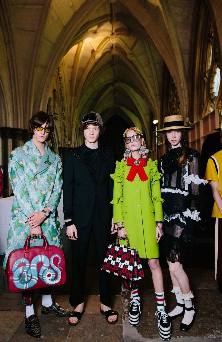 @gucci Cruise 2017‬ @backstageat See more: http://bkstge.at/GucciResortVogue