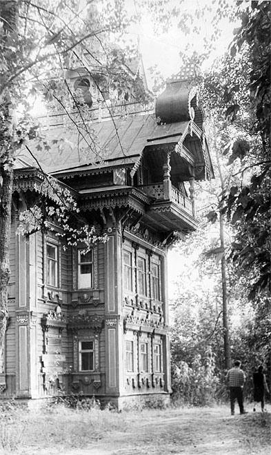 Old house in Kostroma region