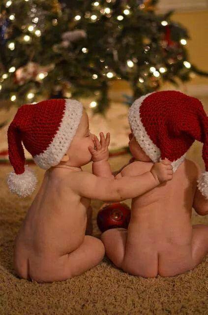 Twins at Christmas!
