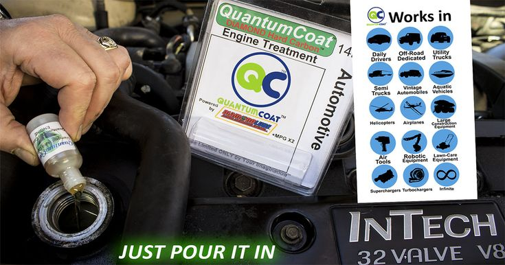 QuantumCoat: More HP, MPG, Stops Engine Wear.  Prolong the life of your vehicle using nanoparticles tested by DoD, DoE & NASA, reduces emissions. A once extremely expensive technology is now available at a fraction of the original cost and in a higher concentration than ever before. #QuantumCoat #vehicle #cars #Indiegogo #technology #autos