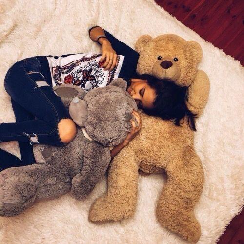 Chill Comfy Cute Girl Love Teddy Teddy Bear