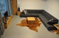 Polyuretanová podlaha Flode Uno, obývací pokoj Malenovice