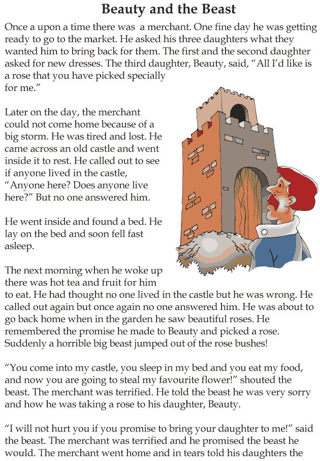 Grade 3 Reading Lesson 5 Fairy Tales Beauty And The Beast 1 | Grade ...