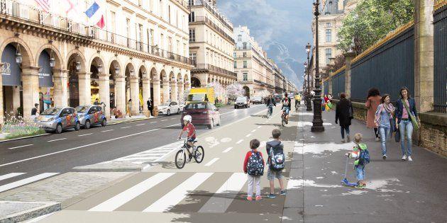 Rue de Rivoli à double sens, tram-bus sur les quais... Comment Anne Hidalgo veut bouleverser le coeur de Paris