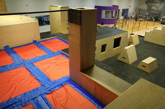 Best indoor parkour and gym ideas images on pinterest