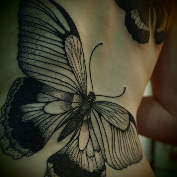 I love butterfly tattoos!