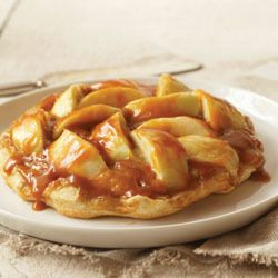 Werther's Original Caramel Apple Tart | This simple tart combines the best of caramel and apple flavors to create a dessert that is unforgettable and as easy as pie.