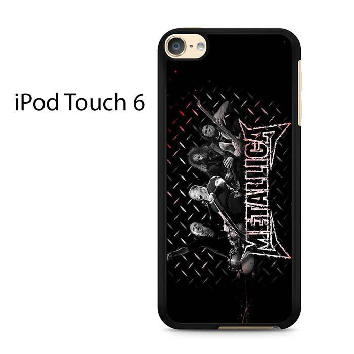 Metallica Band Ipod Touch 6 Case
