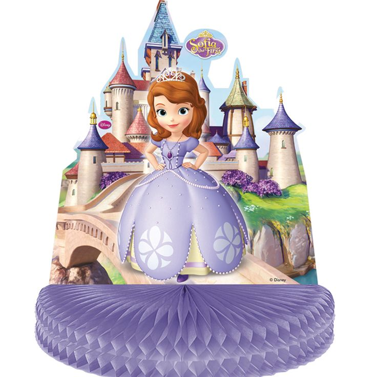 Centre de table princesse sofia pour l'anniversaire de votre enfant - Annikids