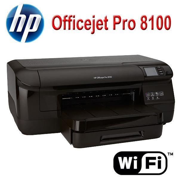 HP Officejet Pro 8100 Color Inkjet Printer ePrinter Wireless