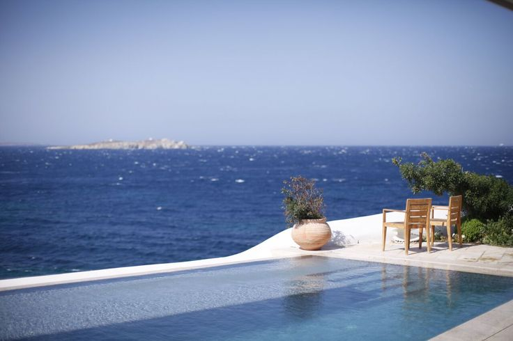 The Belvedere Villa with endless Aegean Views