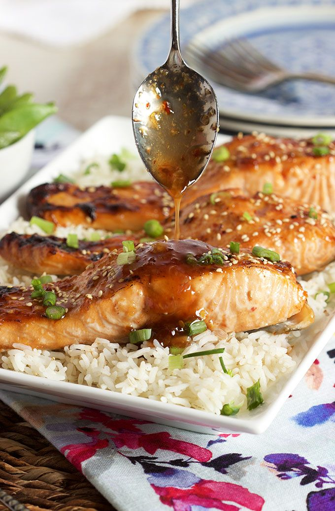 Ready in minutes, this easy Sweet Chili Orange Glazed Salmon recipe is a family favorite. Simple and quick to make, perfect results every single time.