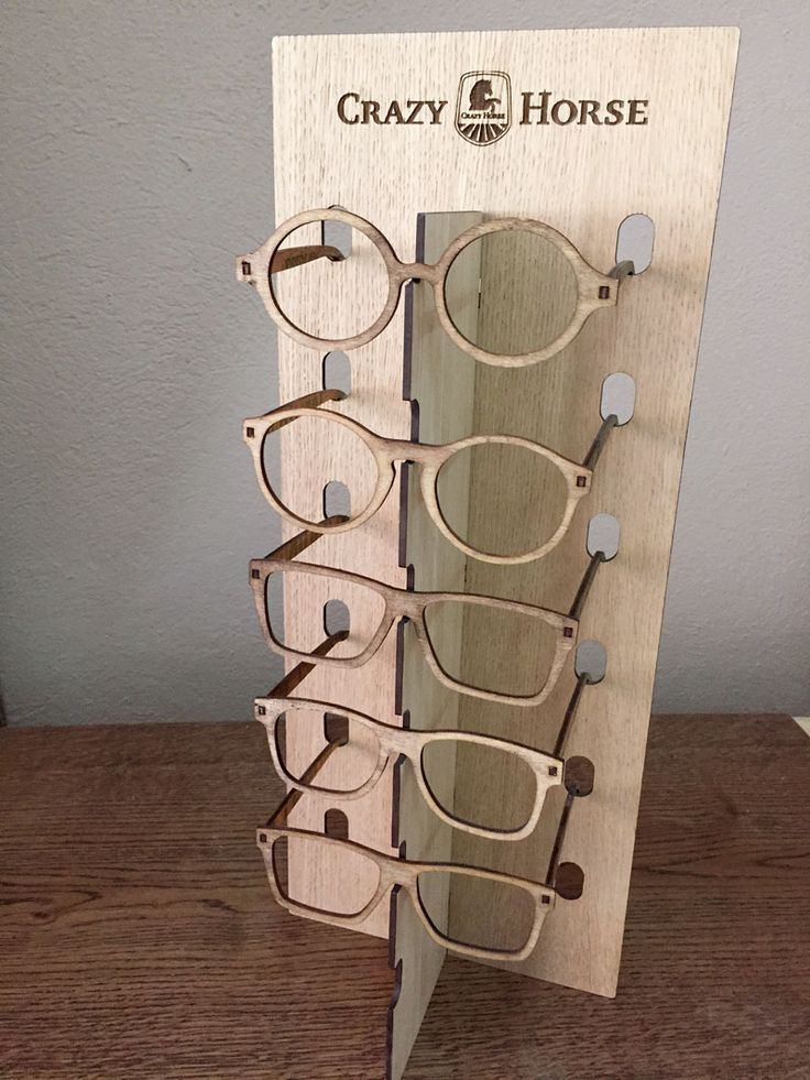 expositor para gafas