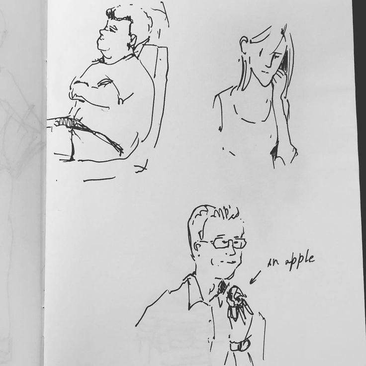 Совсем забыла вам рассказать я решила порисовать что-нибудь регулярное для себя и вспомнила про давний флешмоб от @mammamiu - 10 набросков людей в день (или у нее было 30?) :) в общем я уже неделю как рисую 10 людей в день. Вот буду вам показывать потихоньку. I forgot to tell you I've decided to draw something for myself on regular basis. So I'm drawing 10 sketches of people every day (it's been a week now). I will be showing you more soon.