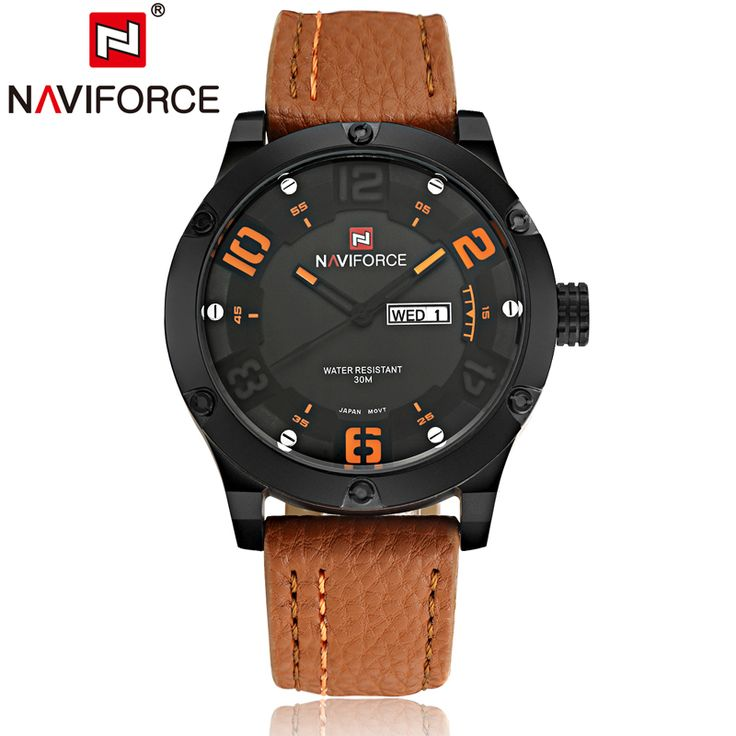 $33.98 (Buy here: https://alitems.com/g/1e8d114494ebda23ff8b16525dc3e8/?i=5&ulp=https%3A%2F%2Fwww.aliexpress.com%2Fitem%2FOriginal-New-NAVIFORCE-Luxury-Brand-Men-Military-Watches-Men-s-Quartz-Hour-Male-Sports-Leather-Army%2F32691335537.html ) Original New NAVIFORCE Luxury Brand Men Military Watches Men's Quartz Hour Male Sports Leather Army Wrist Watches Reloj Hombre for just $33.98