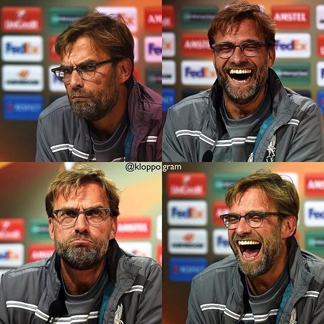 #Boss during today's press conference . #WeBelieve #Liverpool #lfc #lfcfamily #ynwa #klopplfc #klopp #thenormalone