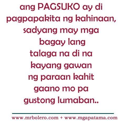 Patama tagalog quotes Move On Quotes: Pinoy Quotes, Awesome Quotes ...