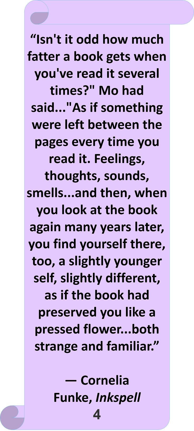 Cornelia Funke, Inkspell #Quote #Author #Reading