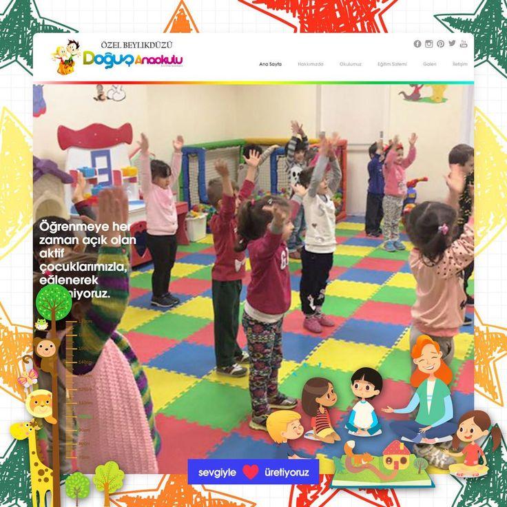 Merhaba süper çocukların süper okulu Özel Beylikdüzü Doğuş Anaokulu'nun yeni web sitesini huzurlarınızda takdim ederiz. Giriş için http://ift.tt/2tGroeg adresine gidiniz. Bizi tercih ettiğiniz için teşekkür eder minik ellere sevgiler.  Web Ajans | Dijital Pazarlama ve Reklam Ajansı - http://ift.tt/2tR7OeA #webagency #webajans #webdesign #interactiondesign #seo #google #adwords #socialmedia #marketing #advertisement #digital #dijital #logo #branding #graphicdesign #motiongraphics #uiux…