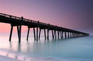 Pensacola Beach Fishing Pier, Pensacola Beach, Florida
