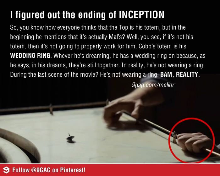 Inception Ending Wedding Ring