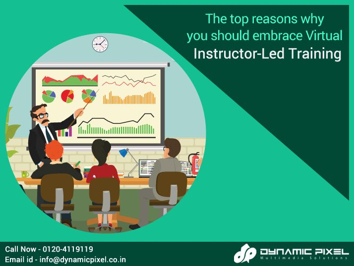 Virtual Instructor-Led Training (VILT) is delivered through e-learning processes and it is one of the most growing trends of the modern times.  Here are, top reasons why you should embrace Virtual Instructor-Led #Training (VILT) - goo.gl/uj4VJz