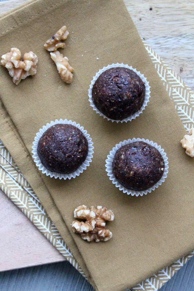 Rezept: Brownie Energy Balls | Projekt: Gesund leben | Clean Eating, Fitness & Entspannung