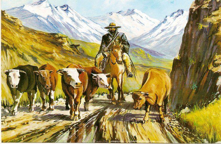 pinturas del campo chileno - Buscar con Google