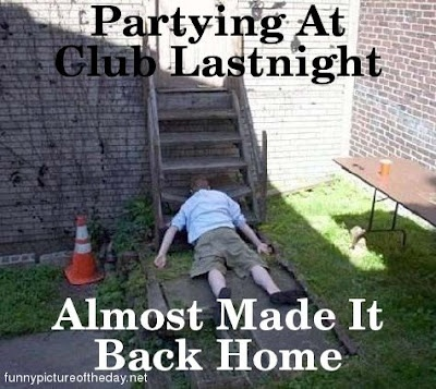 Partying At The Club Funny Drunk