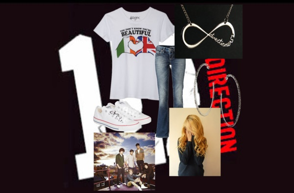 """One Ditection Fan Look;)"" by rodeo-grl98 on Polyvore"