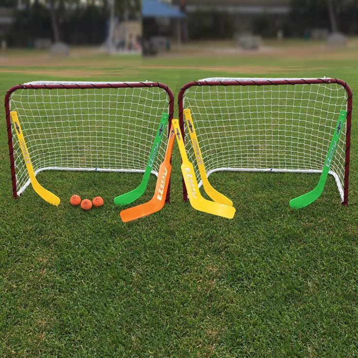 EZ Goal Double Mini Hockey Goal - 67202
