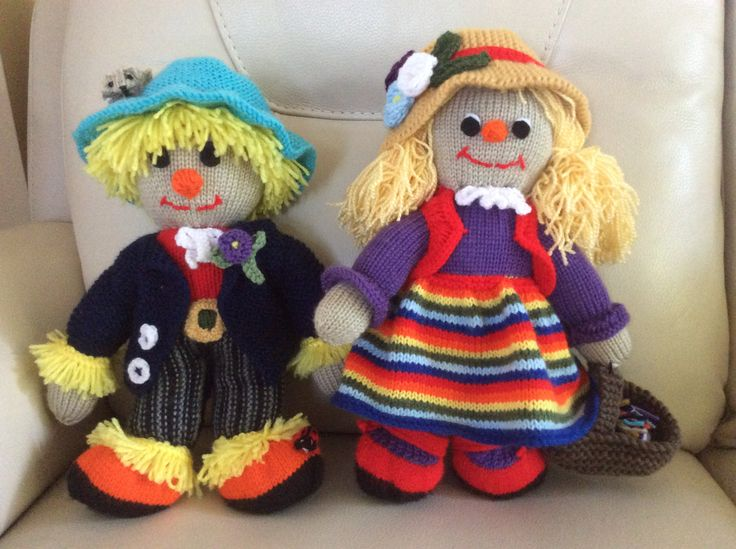 Sam and Sally Scarecrow