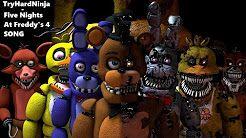 (SFM FNAF) Five Nights at Freddy's 4 SONG by TryHardNinja - YouTube