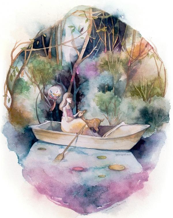 Mixed Media Illustrations by Valerie Ann Chua
