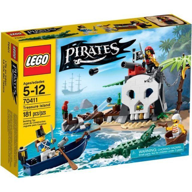 Đồ chơi LEGO 70411 Treasure Island – Đảo kho báu