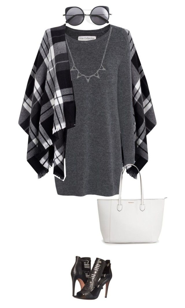 """""""Untitled #877"""" by jelena-678 ❤ liked on Polyvore featuring Lipsy, Fine Collection, Rebecca Minkoff and Wood Wood"""