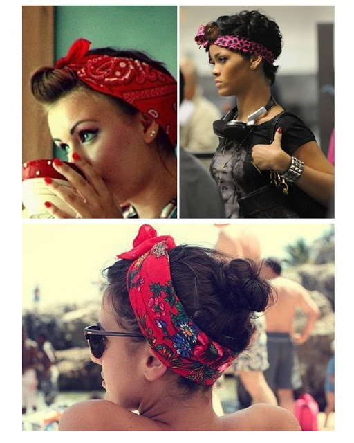 bandana in hair styles and the crown how to wear a bandana hair 8895