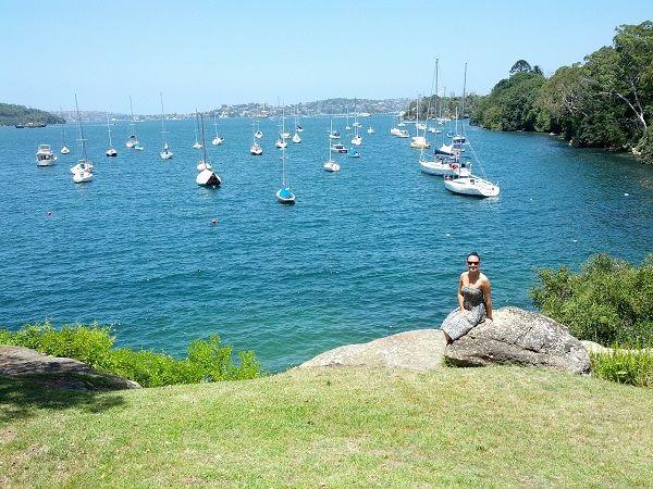 Mosman Bay in Sydney.