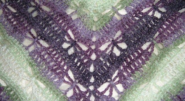 [Free Pattern] Make A Gorgeous Prayer Shawl For A Loved One: Butterfly Stitch Prayer Shawl
