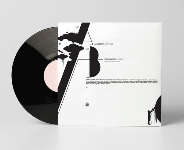Nubes en mi casa · Virtual Single ®Triple rrr Discos by Marcelo Cardozo, via Behance: Single Triple, Virtual Single, Rrr Discos, Mi Casa, Triple Rrr, My