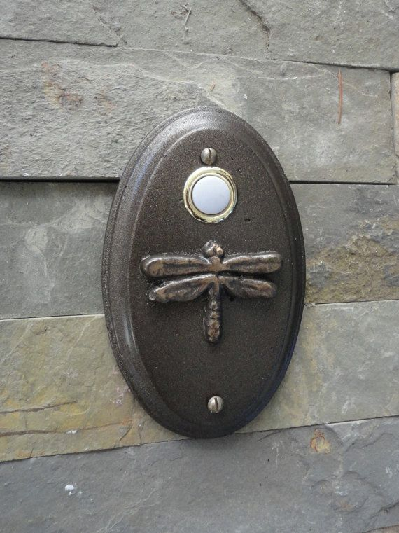 Dragonfly Doorbell Wired Craftsman Oil Rubbed Bronze on Etsy, $19.99
