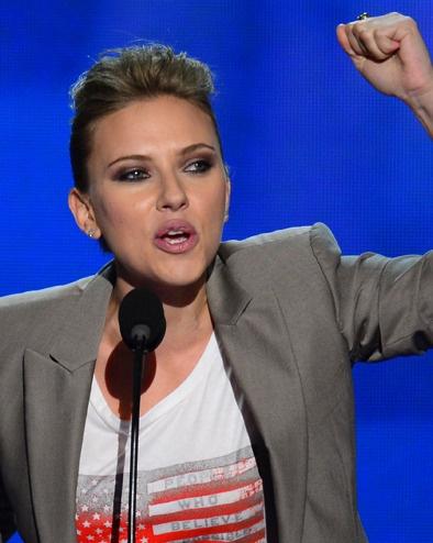 Scarlett Johansson, Eva Longoria, Elizabeth Banks… Les people ont réaffirmé, hier soir, leur soutien à Barack Obama lors de la convention démocrate à Charlotte (Caroline du Nord)