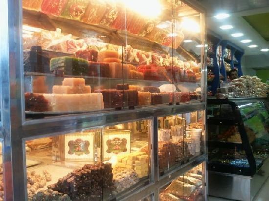 halawa (sweet) shops