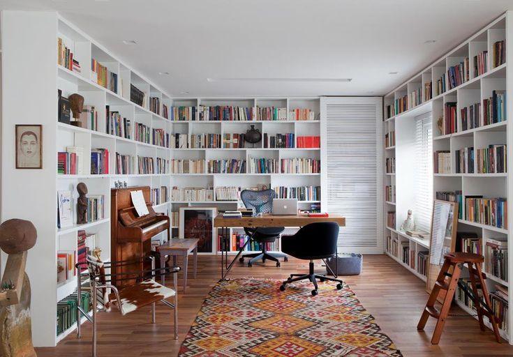 Cele mai frumoase biblioteci [ II ] Jurnal de design interior